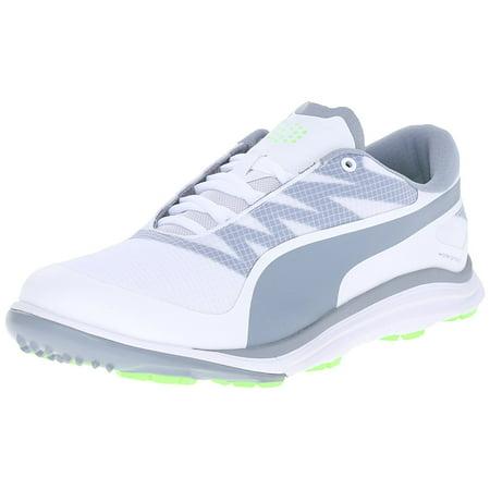 Puma Men's Biodrive Golf Shoes - White/Grey