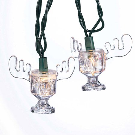 kurt adler ul 10 light national lampoon christmas vacation wally world moose mug light set - Christmas Vacation Moose Mug Set