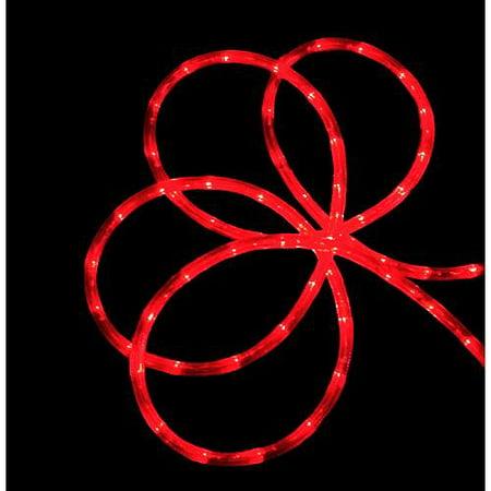 American Lighting Rope - 18' Red Indoor/Outdoor Christmas Rope Lights