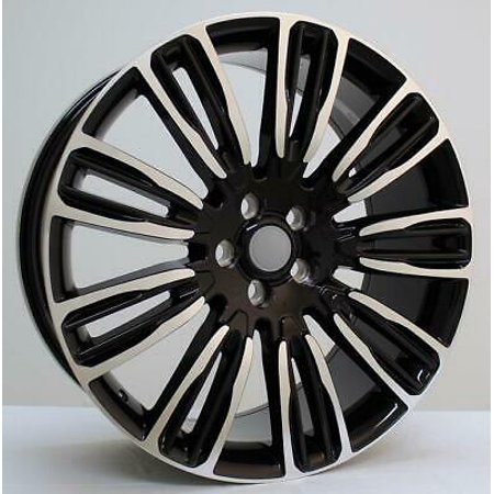 """22"""" Wheel tire package for LAND ROVER DISCOVERY LR3, LR4 2005-16 PIRELLI TIRE"""