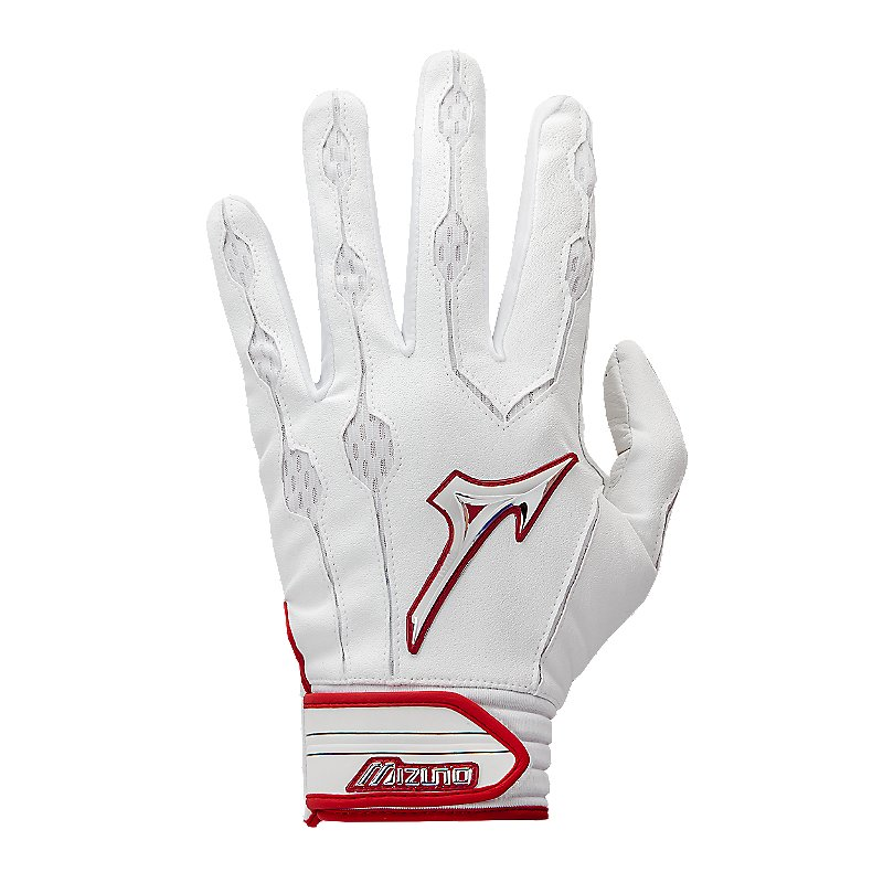 Mizuno Men's Adult Covert Baseball Batting Gloves, 330363