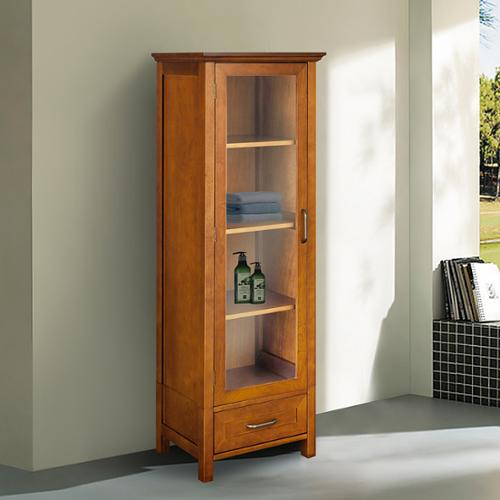 essential home furnishings chamberlain linen tower storage cabinet by