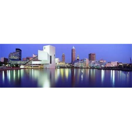 Images panoramiques PPI38676L Mus-e du Rock and Roll Hall of Fame de Cleveland Etats-Unis d'affiche par images panoramiques - 36 x 12 - image 1 de 1