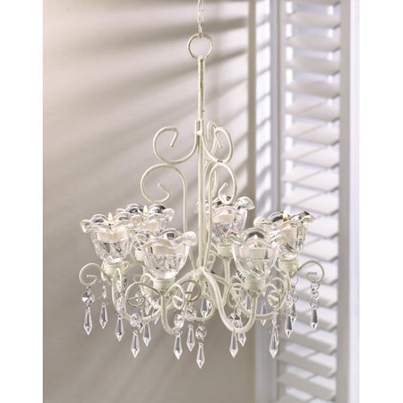 Zingz & Thingz Crystal Blooms 6 Light Candle Chandelier by