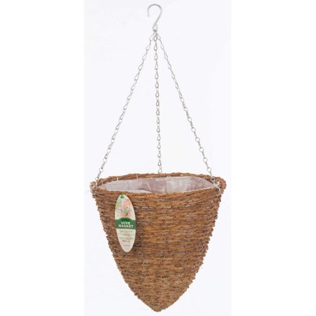 World Source Partners Rattan Hanging Planter