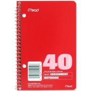 Mead Spiralbound Assignment Notebook (MEA50050)