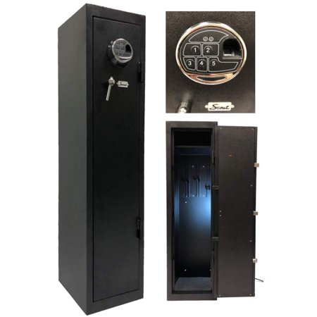 Quick Access Large Biometric Rifle Gun Safe (Barska Quick Access Biometric Rifle Safe Review)