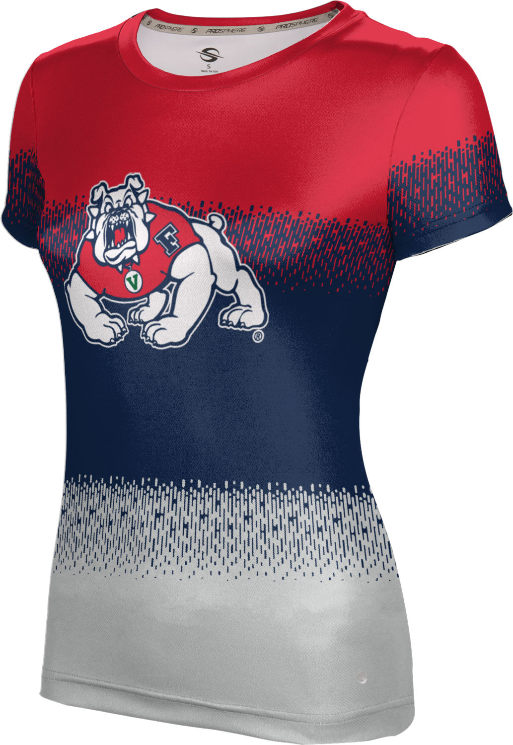 ProSphere Girls' Fresno State University Drip Tech Tee