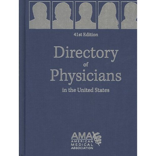 Directory of Physicians in the United States : Four Volume Set