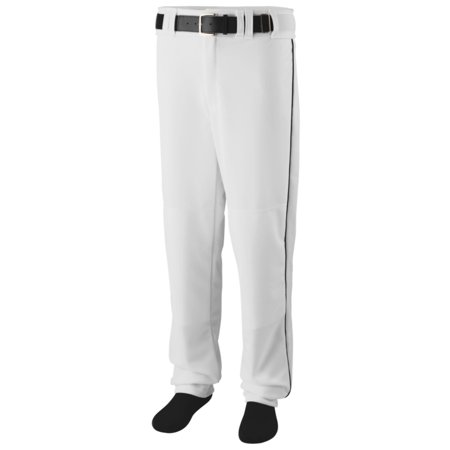 Augusta Yth Sweep Basebll/Sftbll  Pant Whi/Blk S - image 1 de 1