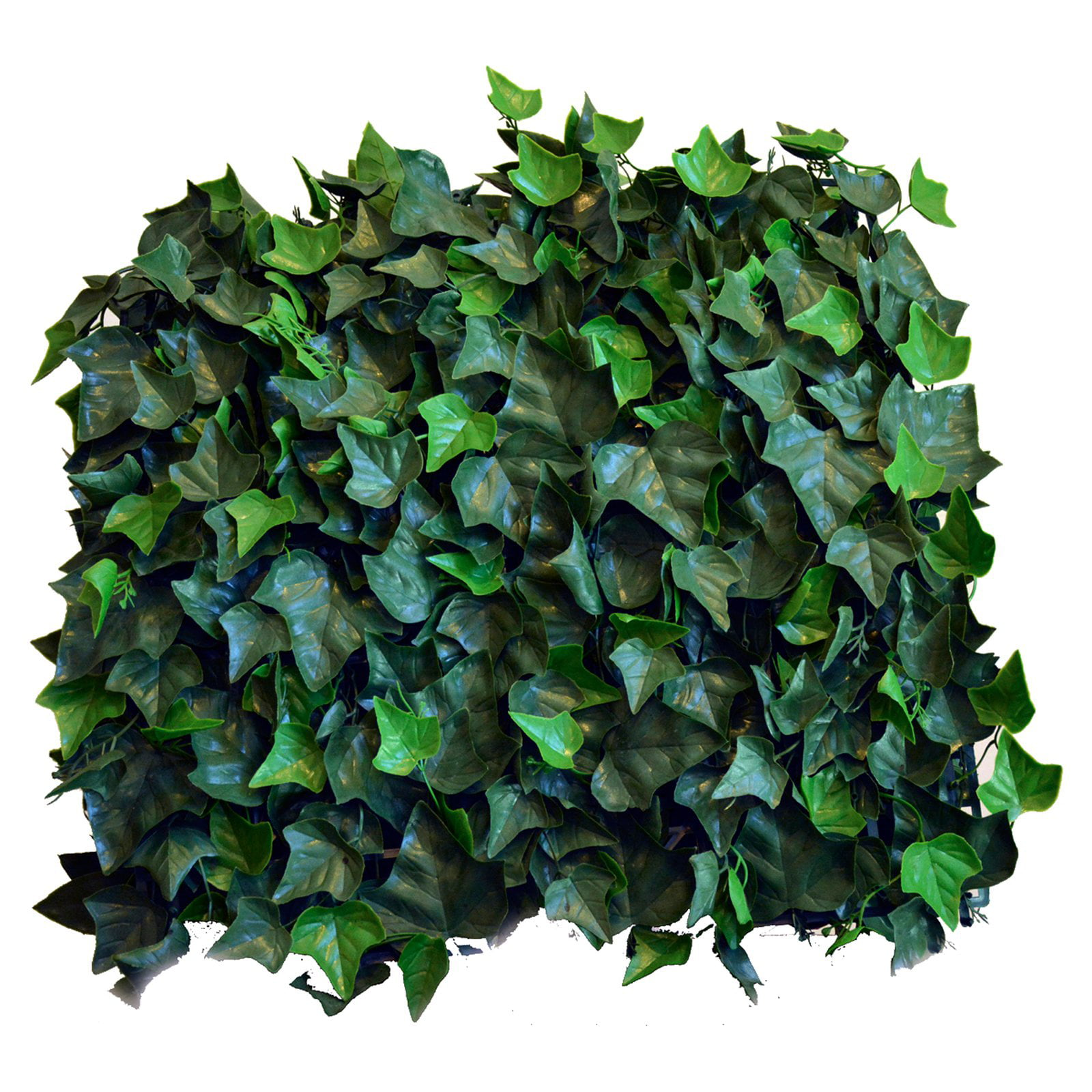 greensmart decor artificial greenery ivy wall panels - set of 4