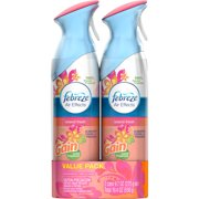Febreze Air Effects with Gain Scent Island Fresh Air Refresher, 9.7 oz, 2 count