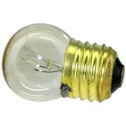 Novelty Light, 7.5-S11 Commerical Grade S11 Transparent Replacement Bulbs, E26 Medium Base, 7 Watt, 25 Pack (Clear)…
