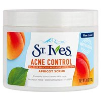 3 Pack - St. Ives Naturally Clear Apricot Scrub Blemish Control 10oz Each