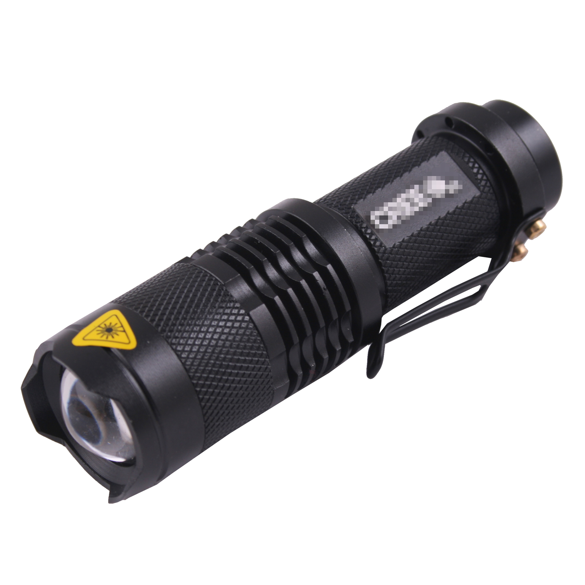 NEW 600LM Lumen Q5 LED Zoomable Waterproof Torch Flashlight