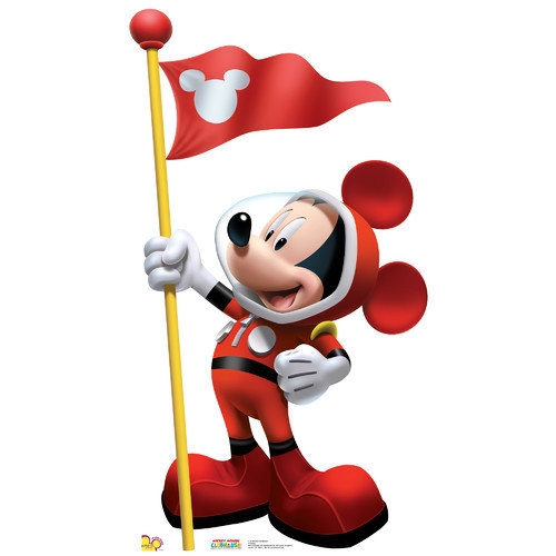 Advanced Graphics Disney Mickey in Space Stand-Up