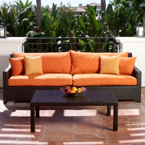 RST Outdoor Tikka Sofa and Coffee Table Set