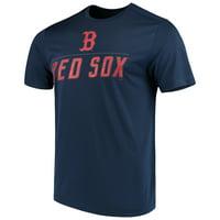 Men's Majestic Navy Boston Red Sox Big Athletic TX3 Cool Fabric T-Shirt