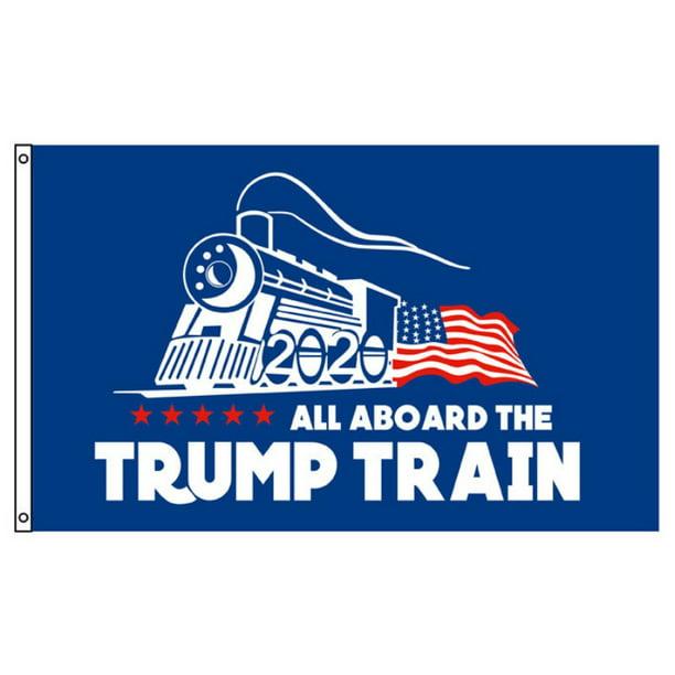 Fymall Donald Trump 2020 Banner Flag 3x5 Ft - Walmart.com ...