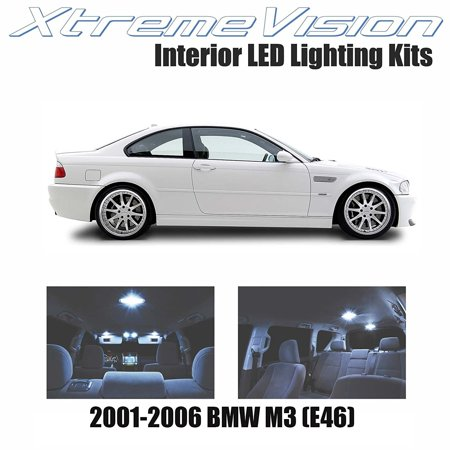 Xtremevision Led For Bmw M3  E46  2001 2006  9 Pieces  Cool White Premium Interior Led Kit Package   Installation Tool