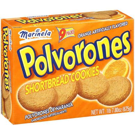 Marinela Shortbread Cookies Polvorones 1 Lb Walmart Com