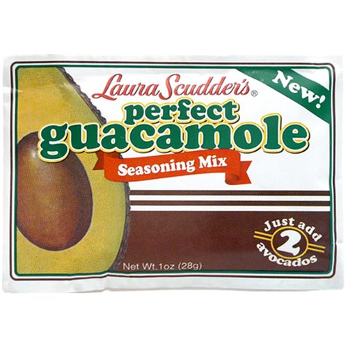 Laura Scudder's Perfect Guacamole Seasoning Mix, 1 oz
