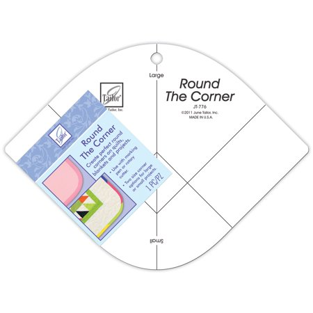 June Tailor Round the Corner Crafting Template Small and Large Curved
