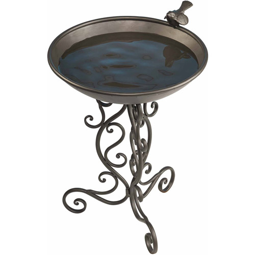 Ornate Metal Birdbath by Gardman USA Inc