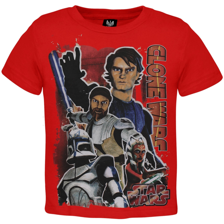 Star Wars - Clone Wars Obi-Wan & Anakin Juvy T-Shirt
