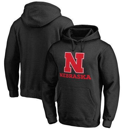Nebraska Cornhuskers Fanatics Branded Team Lockup Pullover Hoodie - Black
