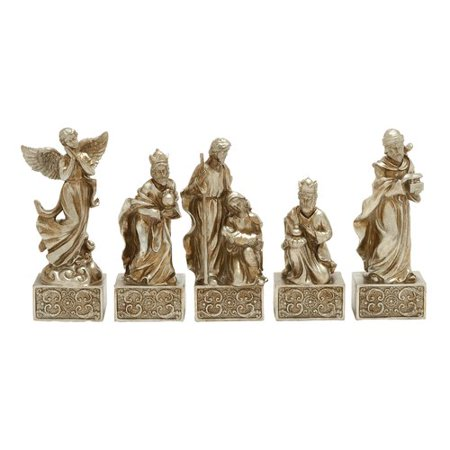 Marvelous Set Of 5 Nativity