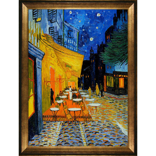 Tori Home Van Gogh Cafe Terrace at Night Canvas Art