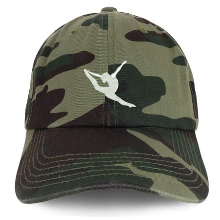 Trendy Apparel Shop Dancer Embroidered Cotton Unstructured dad hat - Digital Night Camo
