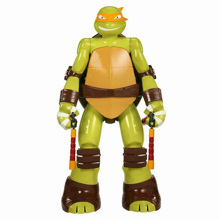 Michelangelo Mutant Ninja Turtle (Teenage Mutant Ninja Turtles Michelangelo Colossal 48 Inch Action)