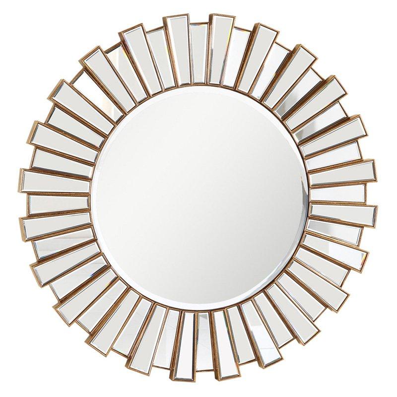 Elegant Furniture & Lighting Modern Wall Mirror 51.25 diam. in. by Elegant Lighting