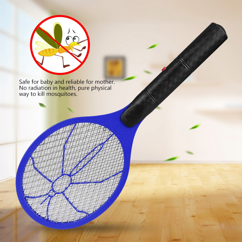 Eecoo Electric Mosquito Swattercordless Battery Power Fly Swatter Electronics Hobby Bug Zapper Racket Insects Killer
