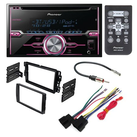 Saturn Wiring (PIONEER FH-X720BT AFTERMARKET CAR STEREO DASH INSTALLATION KIT W/ WIRING HARNESS ANTENNA SELECT BUICK CHEVROLET GMC HUMMER PONTIAC SATURN)