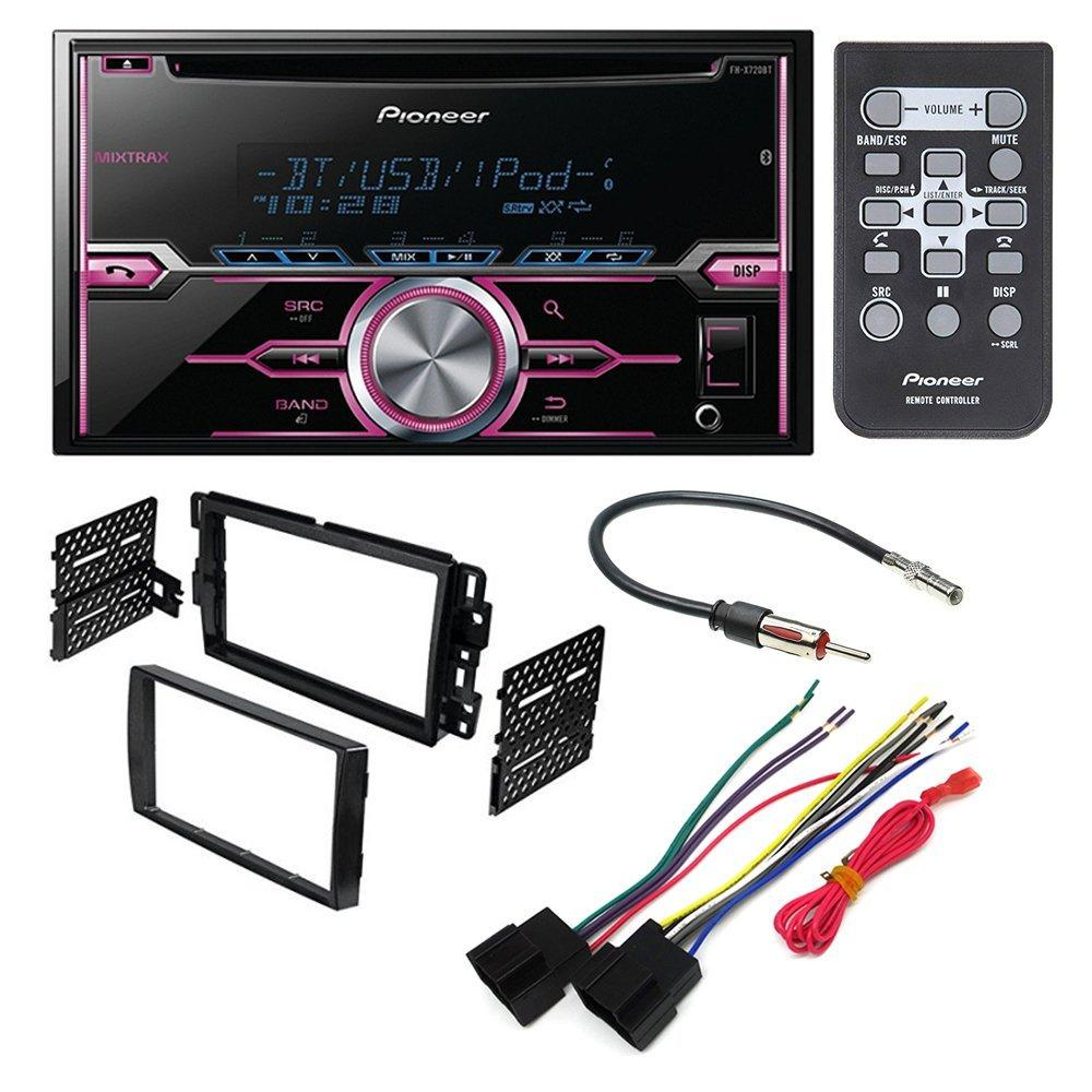 Panasonic Car Stereo Wiring Harness X720bt Diagram Libraries C7 Cq Ford Harnesspioneer Fh Aftermarket Dash Installation Kit W Antenna