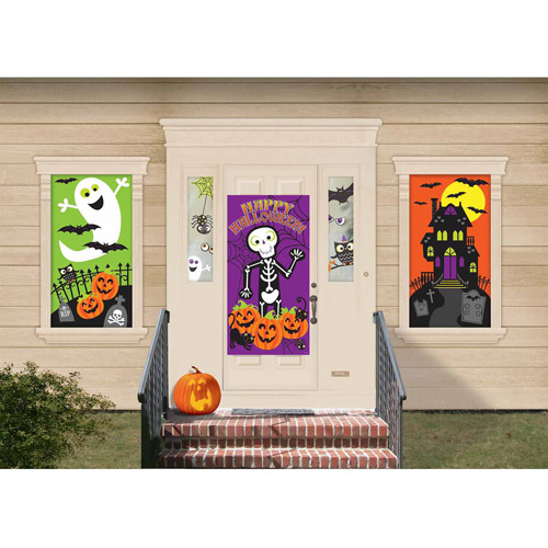 Halloween Fun Mega Decorating Kit (Each) - Party Supplies