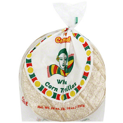 La Comadre White Corn Tortillas, 30ct (Pack of 12)
