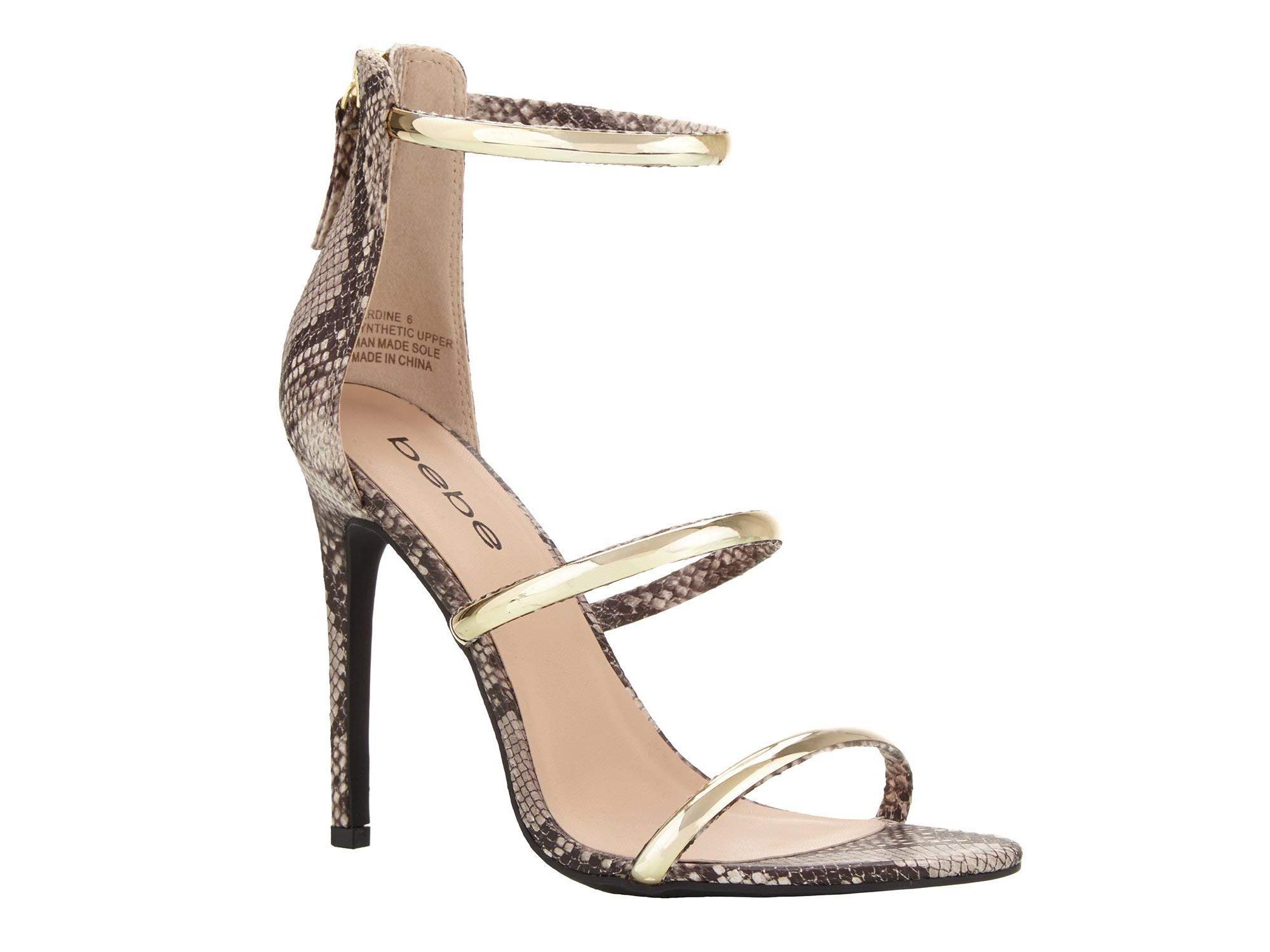 2644a37b5 Bebe Womens Berdine Open Toe Casual Strappy Sandals