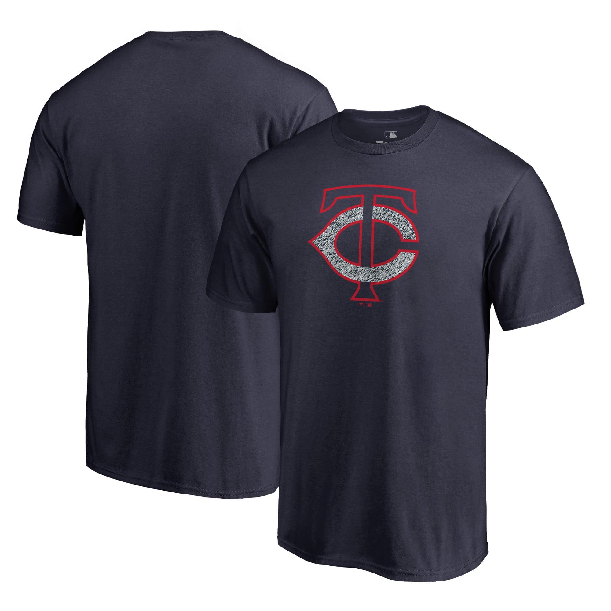 Minnesota Twins Fanatics Branded Static Logo Big & Tall T-Shirt - Navy
