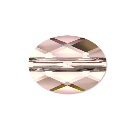 - Swarovski Mini Oval Bead 5051 Crystal Bead 8x6mm Crystal Antique Pink (Package of 1)