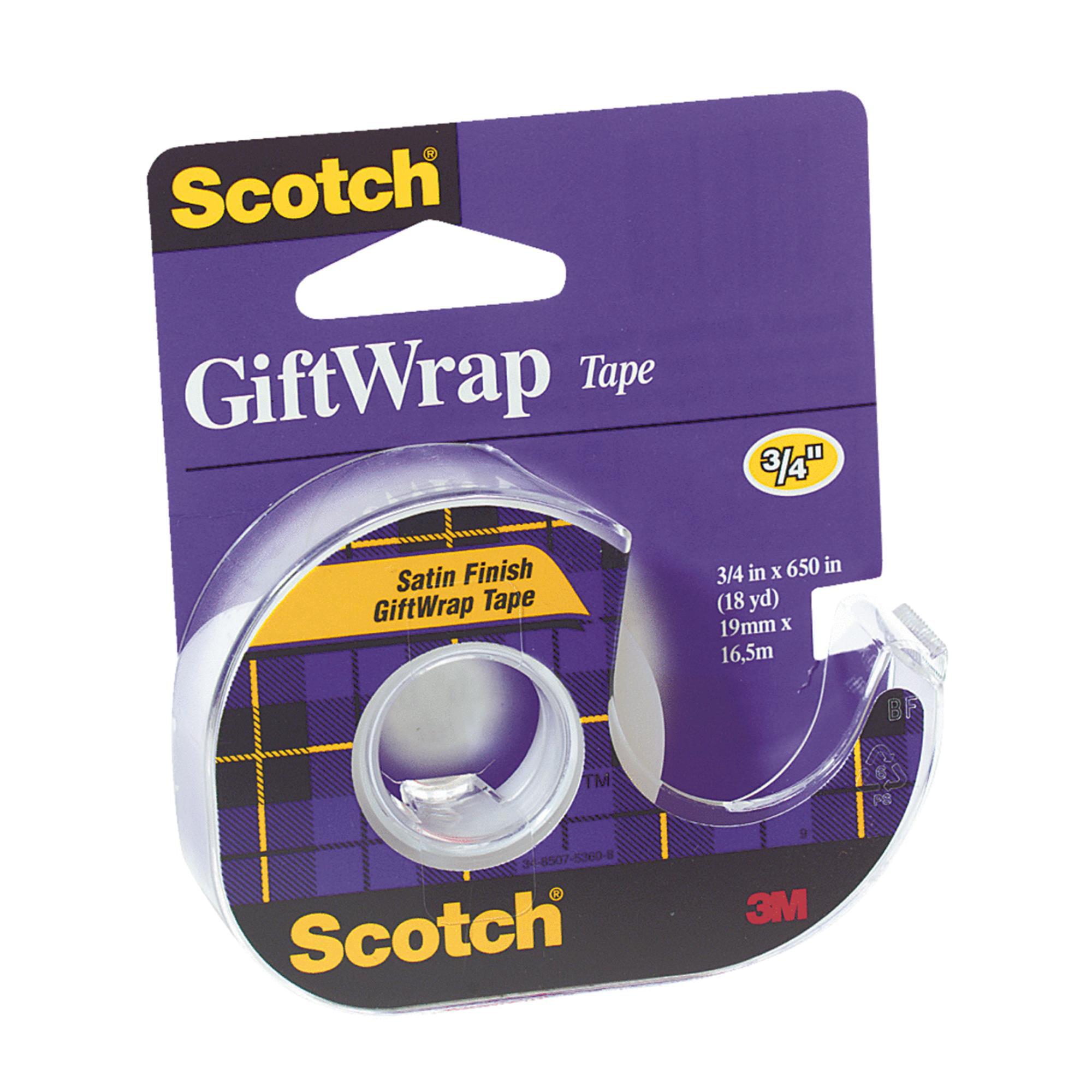 Scotch Gift-Wrap Transparent Tape