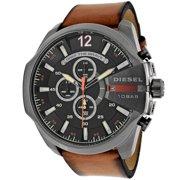 Diesel Men's DZ4343 Brown Leather Quartz Watch