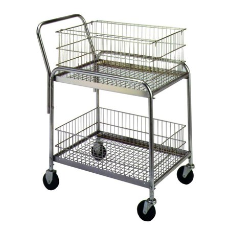 Wesco Std Wire Office Cart