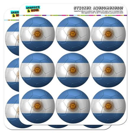 Argentina Flag Soccer Ball Futbol Football 2