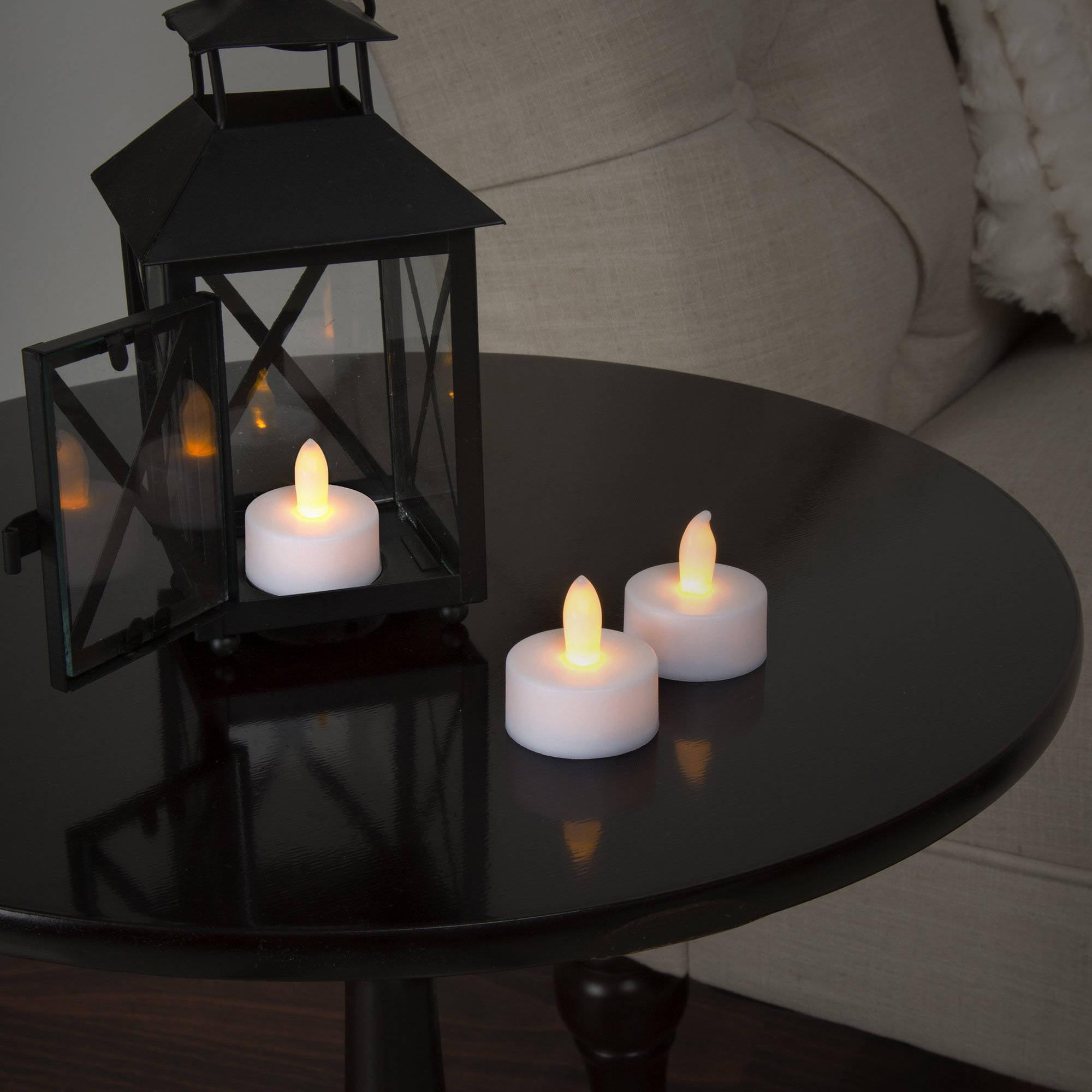 Lavish Home 24-Piece LED Tea Light Candle Set