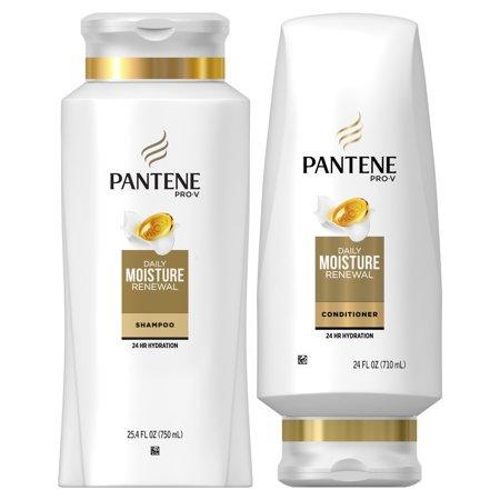 Pro Moisture - Pantene Pro-V Daily Moisture Renewal Shampoo and Conditioner Dual Pack, 49.4 fl oz
