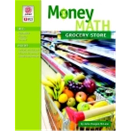 Pci Educational Publishing Money Math - Grocery Store Layflat Binding Softcover Binder